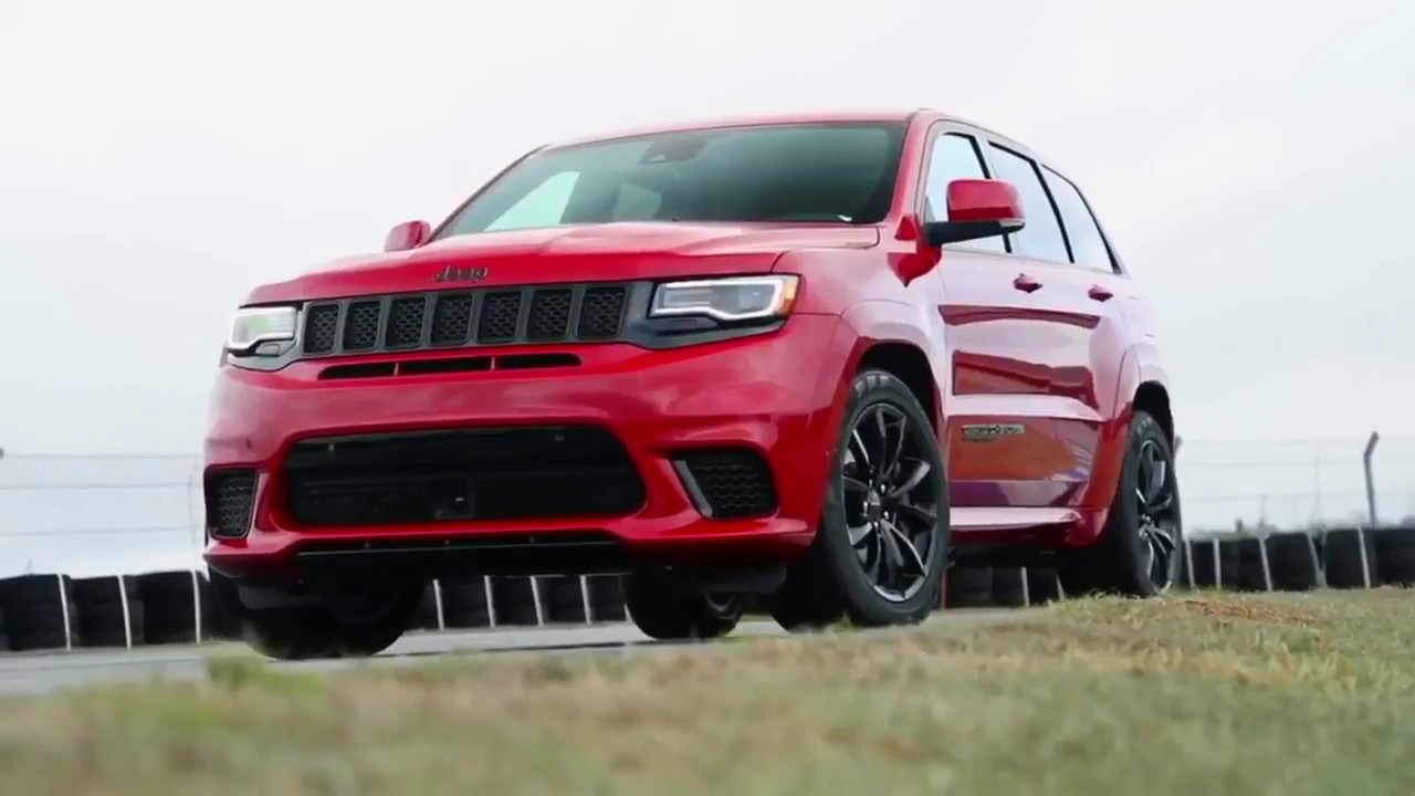 2018 jeep grand cherokee trackhawk 707hp world fastest suv youtube. Black Bedroom Furniture Sets. Home Design Ideas