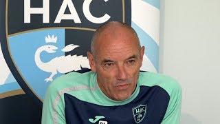 Coupe de la Ligue : Avant Clermont - HAC, interview de Paul Le Guen