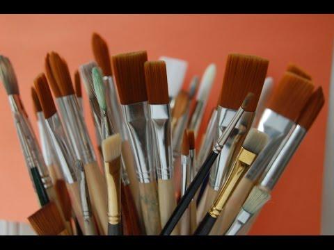 cómo-elegir-pinceles-para-pintar-al-óleo.-curso-de-pintura.