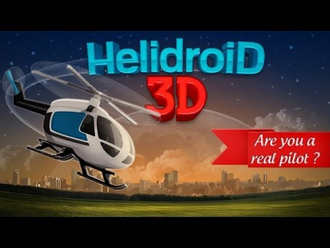 Helidroid 3D for Android and iPhone / iPad