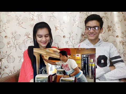 Air Hostess In Indian Private Train Tejas Express |Pakistani Reaction|