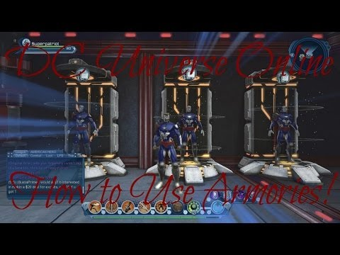 DCUO-How to Use Armories