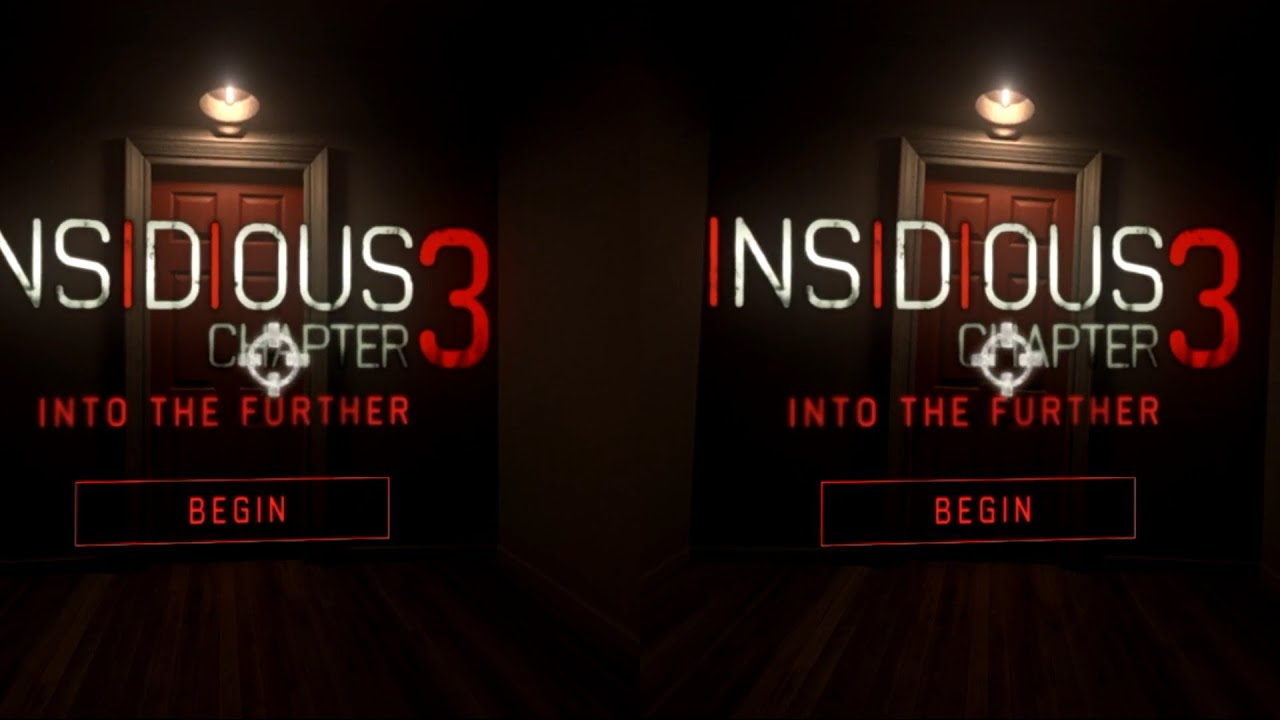 Scary Video Insidious VR Google Cardboard Virtual Reality 3D Gameplay 1080p