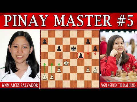 WNM SALVADOR || Pinay Chess Master turned LAWYER