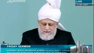 Turkish Friday Sermon 29th April 2011 - Islam Ahmadiyya