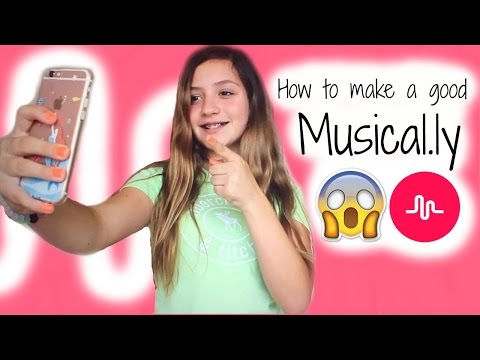 How I make a good Musical.ly♡