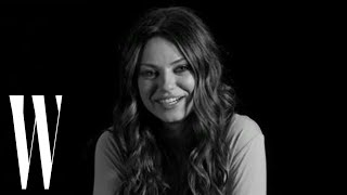 Mila Kunis on Black Swan, Baywatch, and That 70s Show | Screen Tests | W Magazine