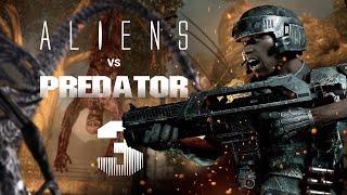 Aliens vs Predator - Прохождение на русском Часть 3: Десантник (1080p, 60FPS)