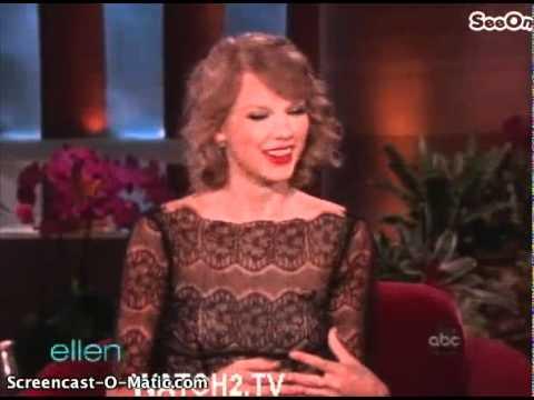 Taylor Swift On Ellen Degeneres Part 1/2 06/28/11