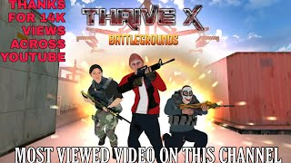 THRIVEX BATTLEGROUND GAMEPLAY AND REVIEW....😡 screenshot 1