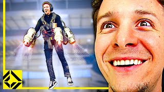 Wren Flies a REAL IRON MAN Jetpack!
