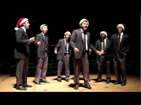 "UC Men's Octet ""Silver Bells"" A Cappella Performance at UC Berkeley Holiday Concert"