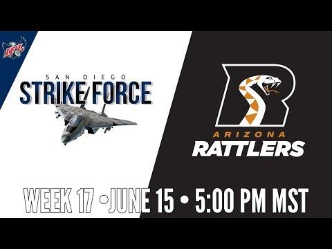 IFL Week 17 | San Diego Strike Force at Arizona Rattlers