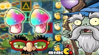 Plants Vs Zombies 2 Dark Ages: NEW COSTUMES Sun-Bean,Hypno On Yeti Piñata Party