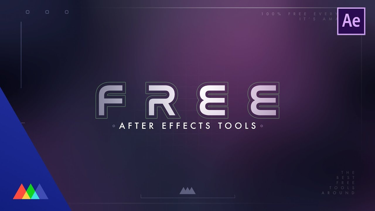 5 Free After Effects Tools