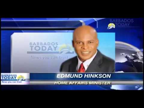 Barbados Home Affairs Minister Edmund Hinkson on Haitian Visa - Barbados Today