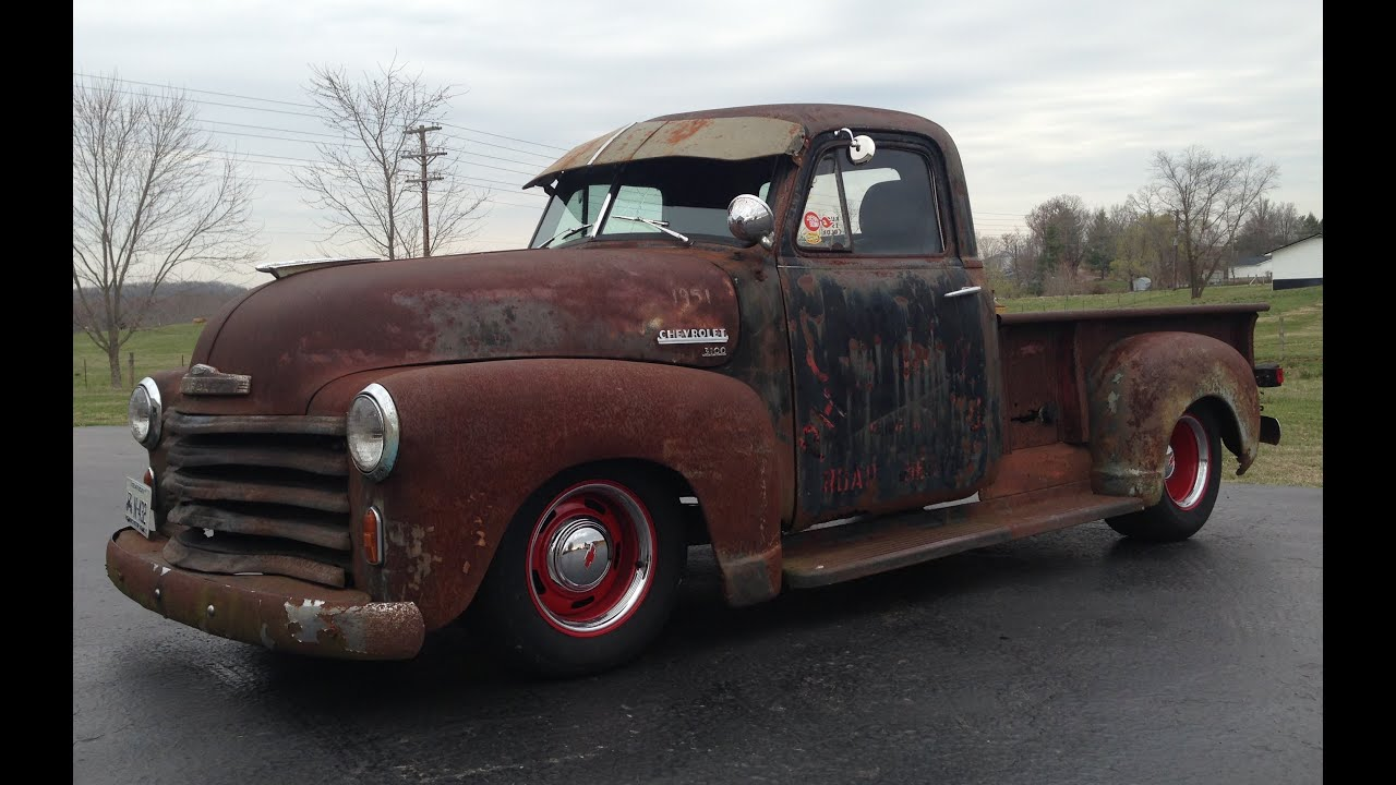 Rusty old Chevy Truck! - YouTube