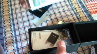 Unboxing Sony Bloggie MHS-FS1
