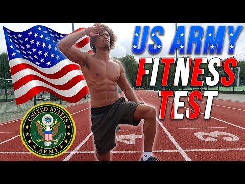 Calisthenics Athlete Tries The US Army Fitness Test Without Practice