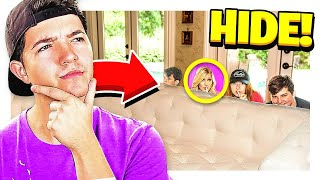 HIDE & SEEK IN REAL LIFE! vs MY WIFE, SISTER & LITTLE BROTHERS