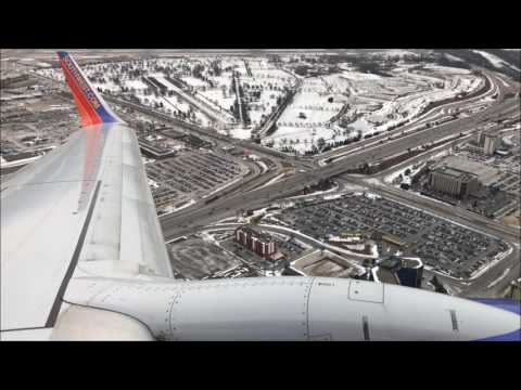 Southwest 737-700 Cloudy Takeoff from Minneapolis