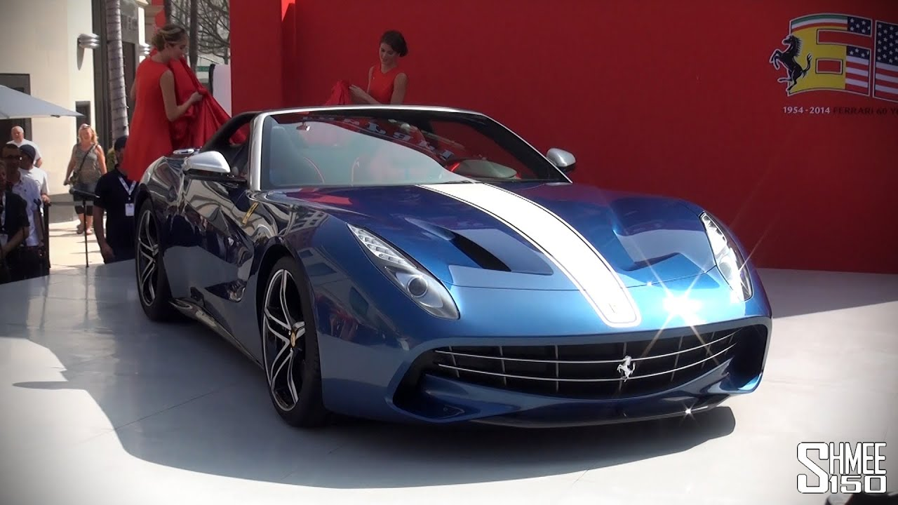FIRST LOOK: Ferrari F60 America - $2.5m Limited to 10 Cars