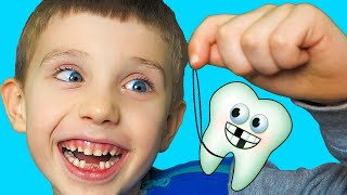 Kids story about my baby tooth by YegorkaTV