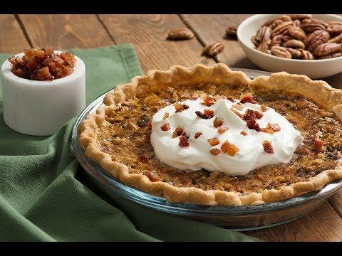Kentucky Legend® Bourbon Bacon & Pecan Pie