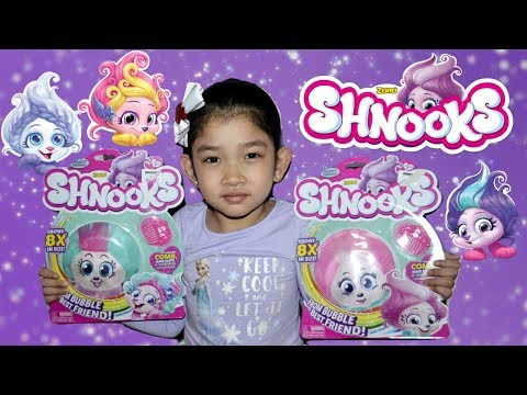 SHNOOKS! POP SHAKE STYLE PLUSH TOY Opening Review | From BUBBLE to BEST FRIEND