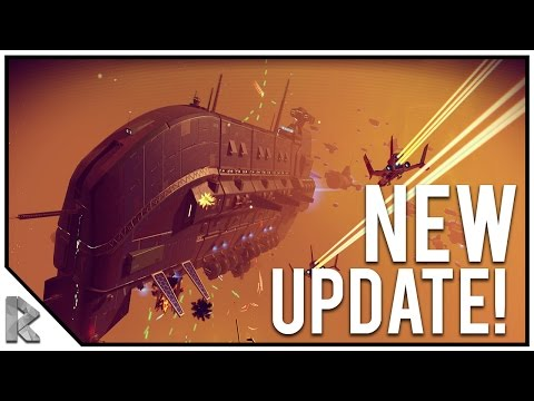 NO MAN'S SKY FOUNDATION UPDATE! - Base Building, Freighters, Waypoints! - No Man's Sky 1.1 Update #1