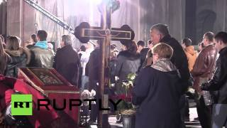 Serbia: Parishioners Pack World's Largest Orthodox Church For Easter