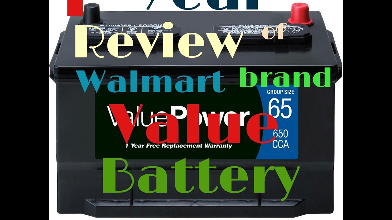 1 Year Review Why Walmart S Valuepower Brand Battery Doesnt