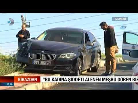 Seyir Halinde Kavga ! İstanbul Şişli