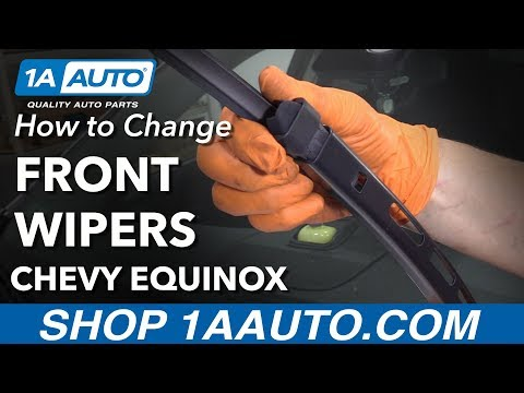 How to Replace Front Windshield Wipers 10-17 Chevy Equinox
