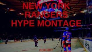 2016-2017 New York Rangers Season Pump Up Video
