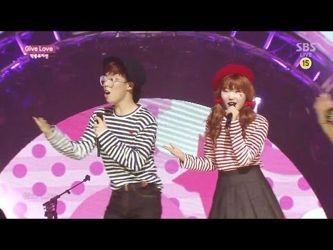 Akdong Musician(AKMU) - 'GIVE LOVE' 0518 SBS Inkigayo