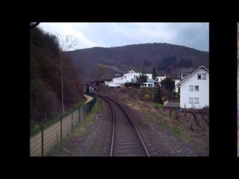 Führerstandsmitfahrt KBS 477 RB 30 Ahrbrück - Bonn (Teil 1/3)