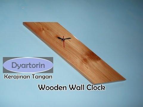 Sederhana tapi KEREN! jam dinding dari kayu palet