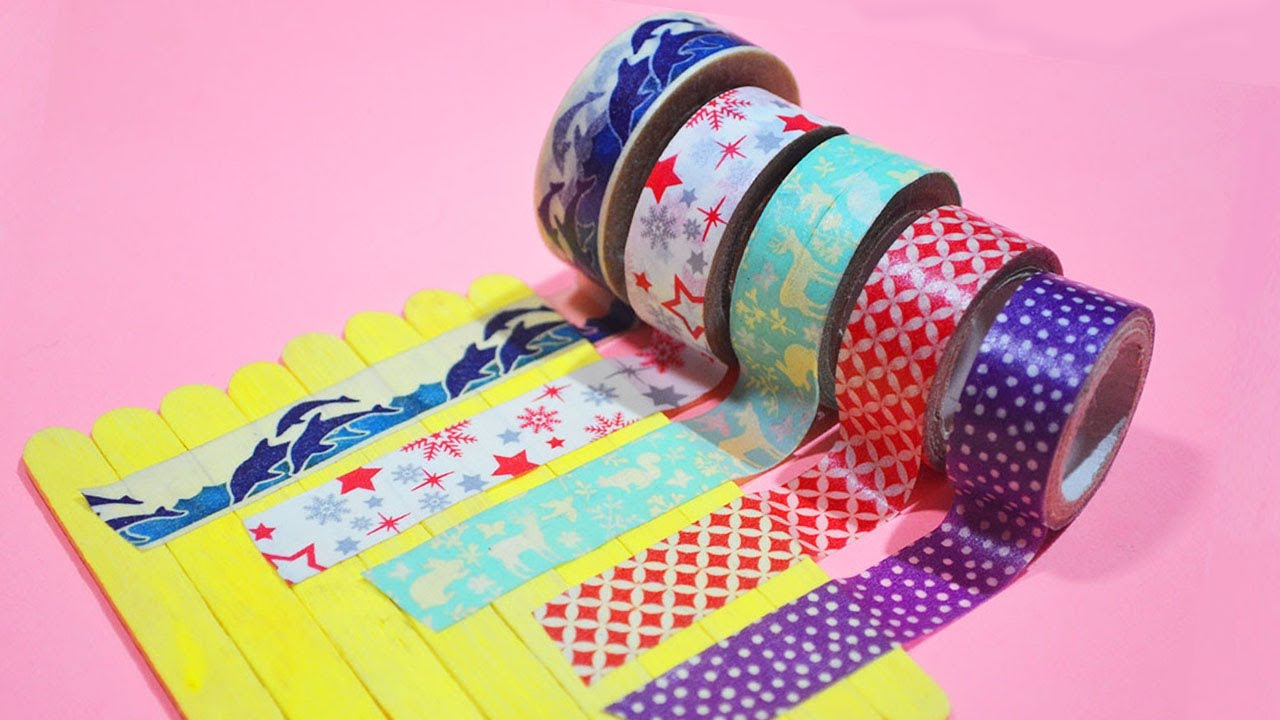 Washi Tape Crafts 7 totally easy washi tape crafts you might want to try - washi