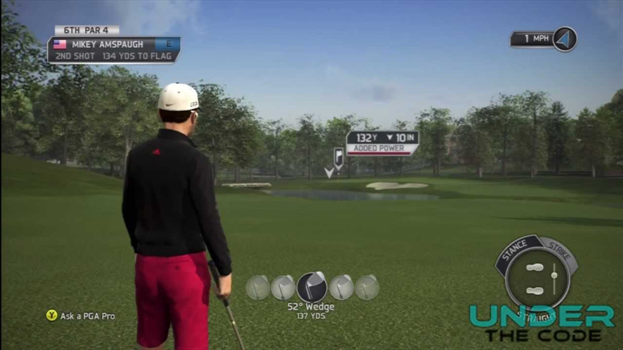 Guide To Holing Out In Tiger Woods Pga Tour