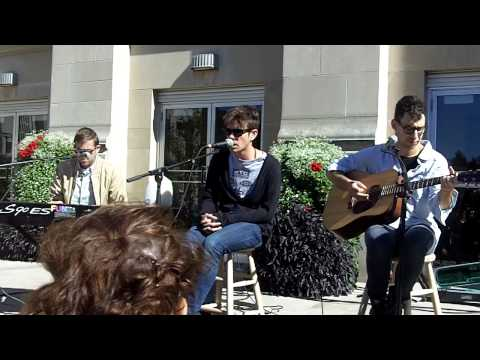 """Fun. -  """"Be Calm"""" Live Acoustic At Indiana University"""