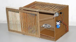 How to Make Electric Mouse Trap At Home - DIY