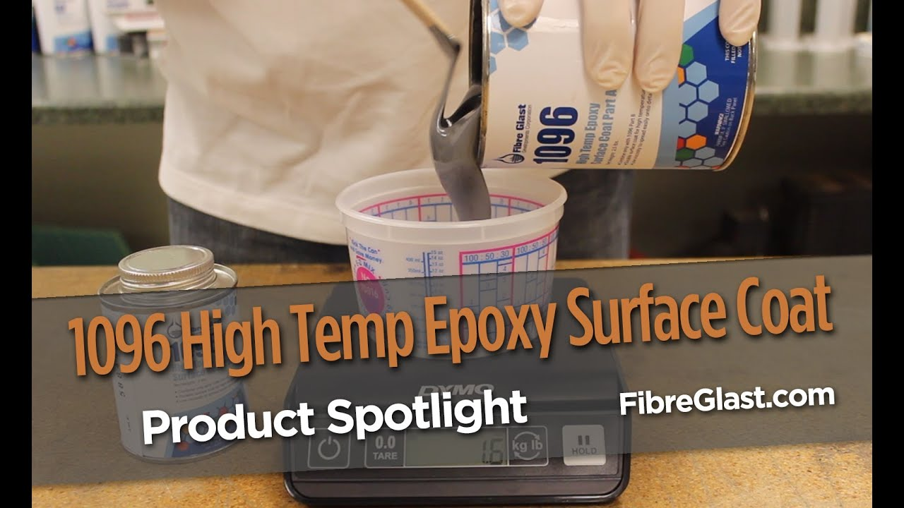 High Temp Epoxy Surface Coat in stock | Fibre Glast