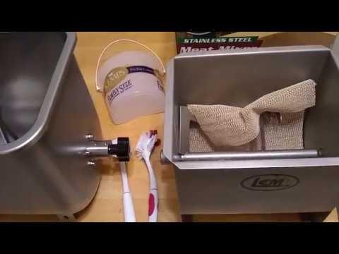 LEM 50lb Fixed Position Mixer Compared To 20lb Mixer