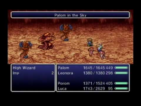 Final Fantasy IV: The After Years - The Crystals Bands 3 - Four Characters