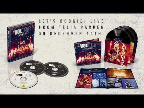 VOLBEAT - Let's Boogie! Live from Telia Parken [Album Out 14 December 2018]