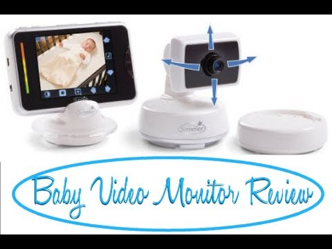 review summer infant baby touch digital color video monitor youtube. Black Bedroom Furniture Sets. Home Design Ideas