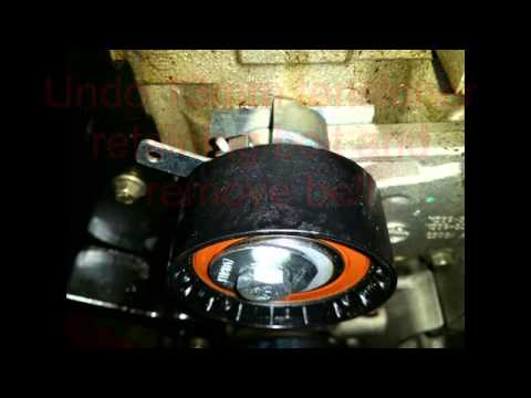 Ford Focus Cambelt and water pump change