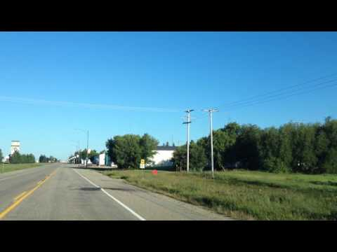 Watson Saskatchewan in the summer