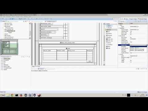 Mroovka Master-Detail Form demo on FirebirdSQL